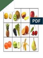 categoria sematica frutas