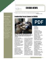 COGVA News March 2018