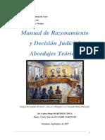 Manual de Argumentación Jurídica