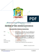 01. Informe Final de Liquidación - COCHARCAS