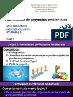 Clase 3  formulación de proyectos ambientales