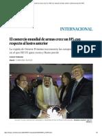 El Comercio Mundial de Armas Crece Un 10% Con Respecto Al Lustro Anterior _ Internacional _ EL PAÍS