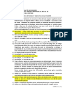1 - Exercício de Direito Processual Penal III