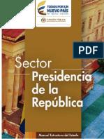 1 Sector Presidencia de La República