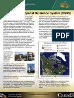 TheCandianSpatialReferenceSystem