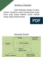 BIOKATALIS (ENZIM)