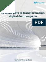 15 Ideas Transformacion Digital