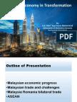 Presentation Malaysia's Economy