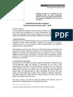 Proyecto de ley de Acción Popular sobre Cunas Salvadoras fue aprobado en Comisión de Justicia y Mujer.