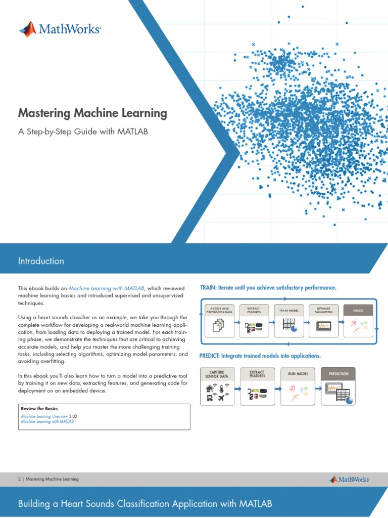 Machine Learning Workflow eBook | Machine Learning | Support Vector
