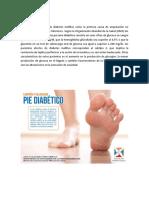 Pie Diabetico, Sesion