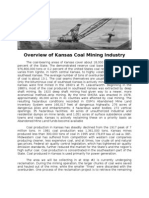 Overview of Coal Mining Industry in Southeast Kansas