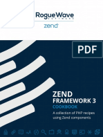 Zend Framework 3 Cookbook