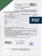 Acta de Acuerdo CP Santa Rosa de Chivis