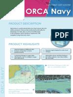 Brochure SevenCs Orca Navy