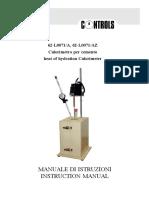 Manual Calorimetro