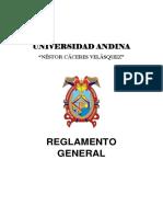 Reglamento General Uancv