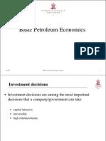 Basic Petroleum Economics_ppt
