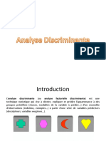 Analyse Discriminante Presentation