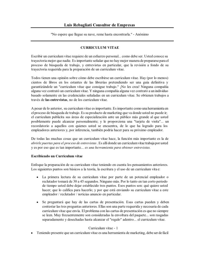 Lujo Escritura De Curriculum Vitae Militar A Civil Regalo - Ejemplo ...