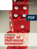 (Cambridge Philosophy Classics) Ian Hacking-Logic of Statistical Inference-Cambridge University Press (2016)