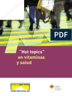 Libro Hot Topics Vitaminas