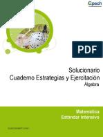 Solucionario MT71 Álgebra 2016