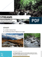 Classification of Streams