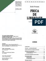 Erich Fromm - Frica de libertate.pdf