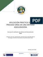 Guía Informe de Autoevaluación ORSA