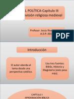 MORAL POLÍTICA-CAPÍTULO III-La Cosmovisión Religiosa Medieval