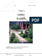 E4-E5 Architecture Chapter-4 Overview of Campus Planning