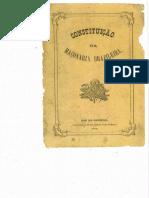Constituição da Maçonaria Brasileira - 1873