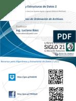 AEDII-Unidad5-AlgoritmosDeOrdenaciònDeArchivos