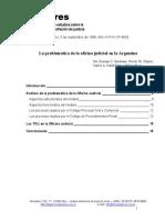 GARAVANO, Germán, Et Al. La Problemática de La Oficina Judicial en La Argentina. Publicado en El Derecho, 2002, Vol. 3.