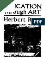 Herbert Read .Education Through