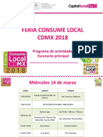 Programa Feria Consume lo Local 2018