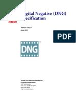Especificaciones Para Dng Version 1.4.0.0
