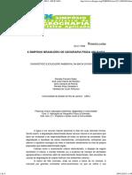 x Simpósio Brasileiro de Georafia Física Aplicada