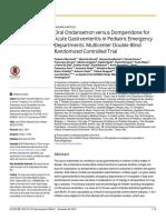 Oral Ondansetron Versus Domperidone for Acute Gastroenteritis