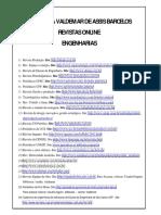 Revistas Online Curso Engenharia