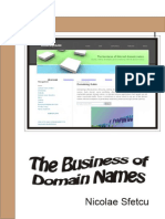 The Business of Domain Names - Nicolae Sfetcu 2014