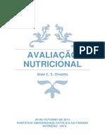 Apostila de Avaliação Nutricional - Gian C. S. Orsatto