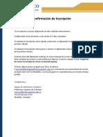 Confirmacion Inscripcion Diplomado PS