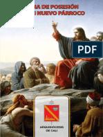 Cartilla Completa Ritual Posesion Nuevo Parroco
