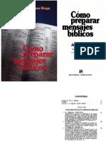 Como Preparar Mensajes Biblicos (James Braga)