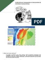 Comportamiento de componentes no estructurales frente a un sismo
