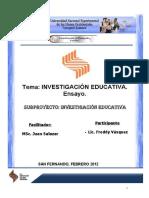 Udi Investigacion Educativa Vasquez Freddy