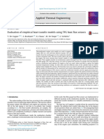 Evaluation of Empirical Heat Transfer Models Using 2017 Applied Thermal Eng
