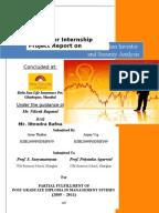 aditya birla money internship project report Summer internship project report iilm institute for higher education under the guidance of mr sunil sharma branch manager aditya birla money.